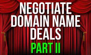 Negotiate Domain Names